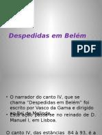 Despedidas em Belém