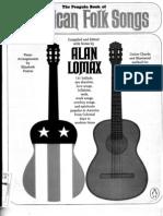 Alan Lomax Penguin Book of American Folk Songs[1] for Guitar