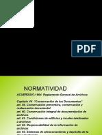 Conservacion y Digitalizacion de Los Documentos