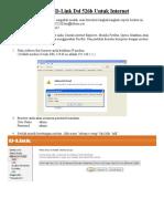 Cara Seting Modem D-Link Dsl 526b