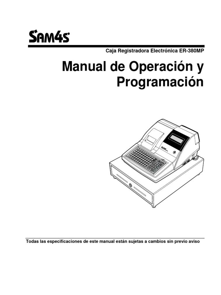 Manual de Usuario ER380MP