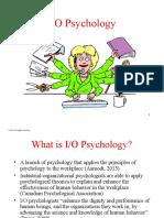 Chap 01 - IO Psychology (1)