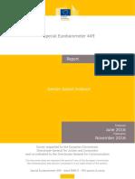 Special Eurobarometer Report