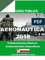 APOSTILA AERONÁUTICA EAOEAR 2018 ENGENHARIA MECÂNICA + VÍDEO AULAS