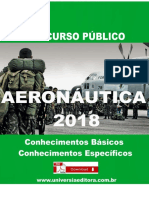 APOSTILA AERONÁUTICA EAOEAR 2018 ENGENHARIA ELETRÔNICA + VÍDEO AULAS