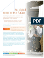 2015 Creating the Digital Hotel of the Future