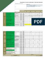 Cronograma de Actividades Salud Ocupacional e&A
