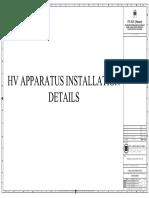Hv Apparatus Installation Details