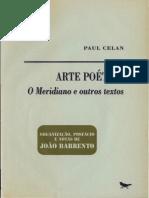 A Arte Poética, O Meridiano e Outros Textos - Paul Celan