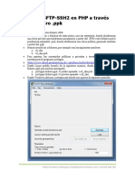 Conexion SFTP en PHP