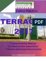 APOSTILA TERRACAP 2017 ENGENHEIRO AGRIMENSOR CARTÓGRAFO - 2 VOLUMES