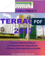 APOSTILA TERRACAP 2017 ENGENHEIRO CIVIL - 2 VOLUMES