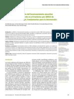 Poder de discriminación del funcionamiento ejecutivo y de la teoría de la mente en el trastorno por déficit de atención/hiperactividad. Fundamentos para la intervención