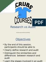 Research vs Audit[2]