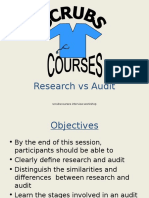 Research vs Audit[2]