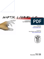 The Haptik Library 1.0 - Developer_s Manual