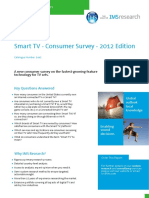 Abstract Smart Tv Consumer Survey 2012