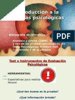 Introducción a las pruebas psicológicas