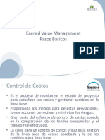 Earned Value Management Pasos Basicos