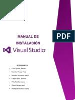 Manual de Instalacion Visual Studio