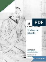 El Caminante - Natsume Soseki