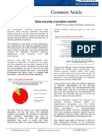 PCI-DSS - Data security a lucrative market