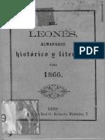 El Leonés - Almanaque Histórico y Literario Para 1866