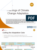 Conceptual Framework for Understanding Climate Change in Decision Making