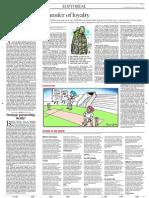 Editorial the Hindu SUN13