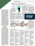 Editorial the Hindu SUN14
