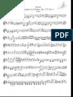 Sonatina Op.137 Nº1 de Schubert(Vln)