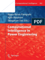 Ajith Abraham Swagatam Das Computational Intelligence in Power Engineering Studies in Computational Intelligence 302 2010