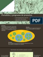 Portafolio y Programa de Proyectos