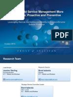 2014 Proactive FSM MI- ServicePower 10.8.2014