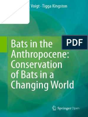 Bats in the Anthropocene | Anthropocene | Conservation Biology