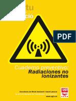 Cuaderno informativo sobre radiaciones no ionizantes