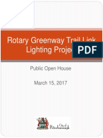 Rotary Greenway Trail Lighting Project and Lighting System Design