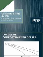 Curva de Comportamiento de IPR