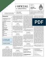 Boletin Oficial 12-07-10 - Segunda Seccion