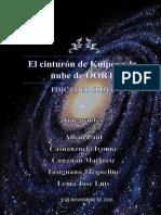 El Cinturón de Kuiper y La Nube de OORT