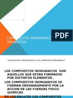 Compuestos Inorgánicos y Orgánicos1