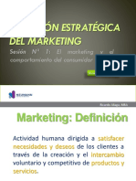 1. Marketing y Comportamiento Del Consumidor