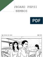 Storyboard Pepsi Bembos