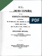 El Cocinero Español y La Perfecta Cocinera - Guillermo Moyano