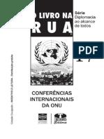 Conferencia Internacionais ONU - Reimpressao