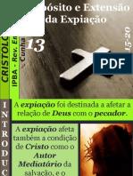 13 - Propósito e Extensão Da Expiação