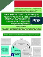 06.Presentacion 6 Unidad Didctica Cooperativa
