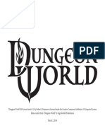Dungeon World GM Screen v2