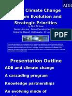 ADB Climate Change Program Evolution and Strategic Priorities