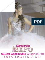 2018 San Jose Quinceanera Expo Media Kit